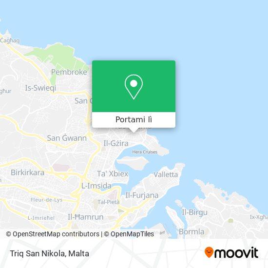 Mappa Triq San Nikola