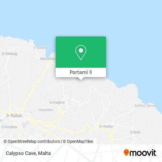 Mappa Calypso Cave