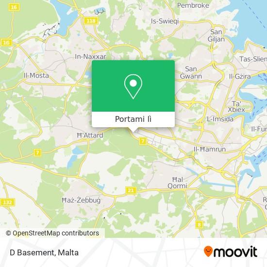 Mappa D Basement