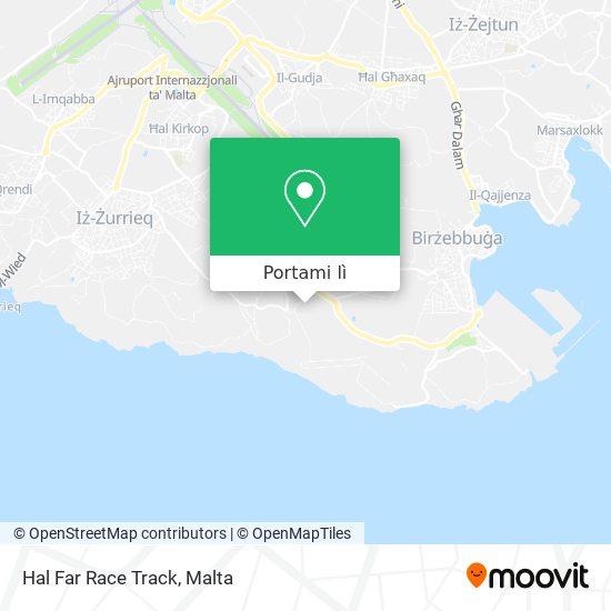 Mappa Hal Far Race Track
