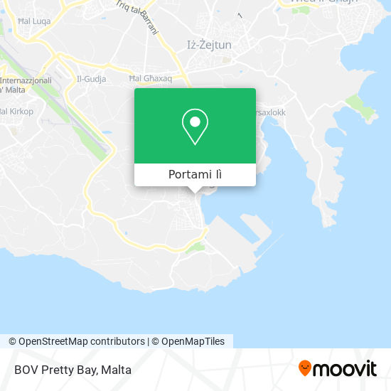 Mappa BOV Pretty Bay