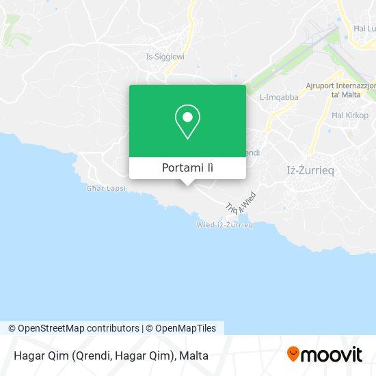 Mappa Hagar Qim (Qrendi, Hagar Qim)