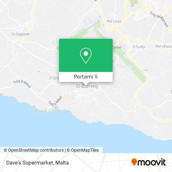 Mappa Dave's Supermarket