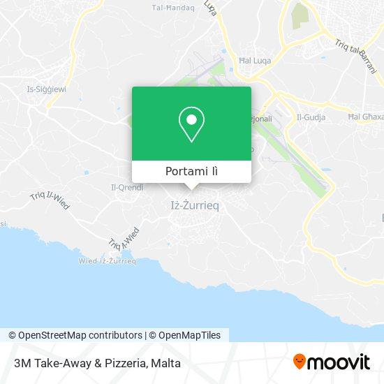 Mappa 3M Take-Away & Pizzeria