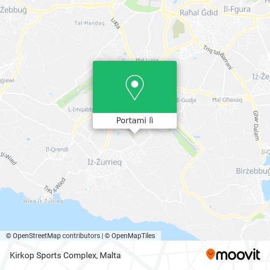 Mappa Kirkop Sports Complex