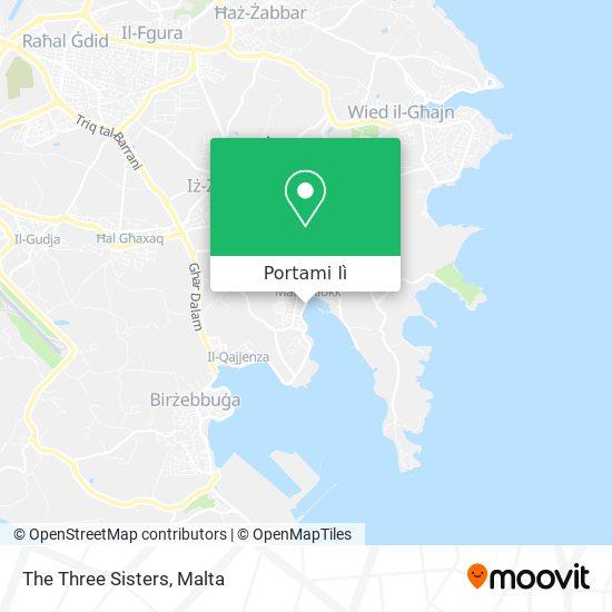 Mappa The Three Sisters