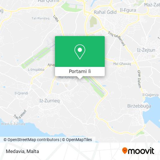 Mappa Medavia