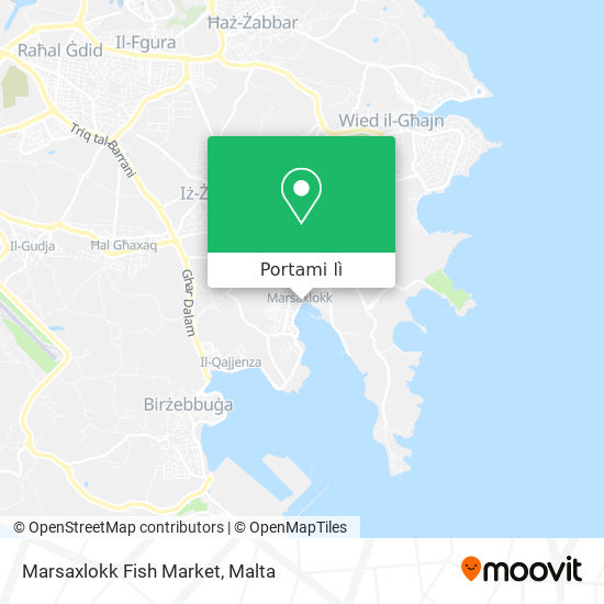 Mappa Marsaxlokk Fish Market