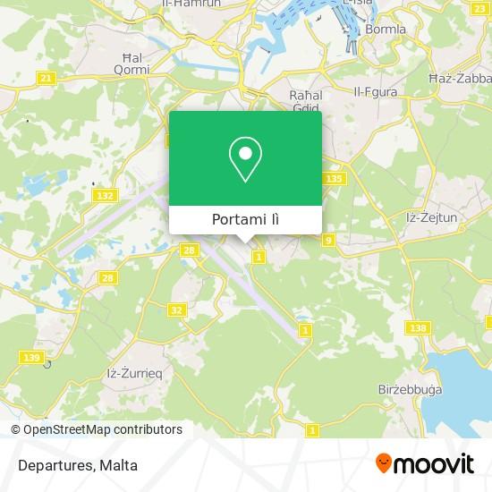 Mappa Departures