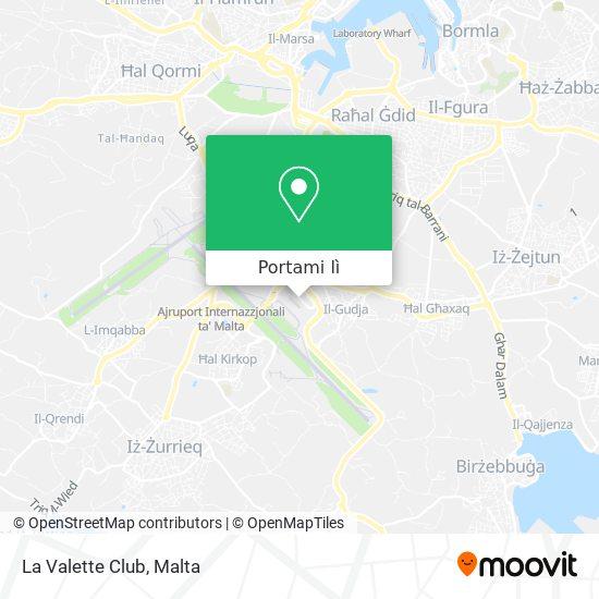 Mappa La Valette Club