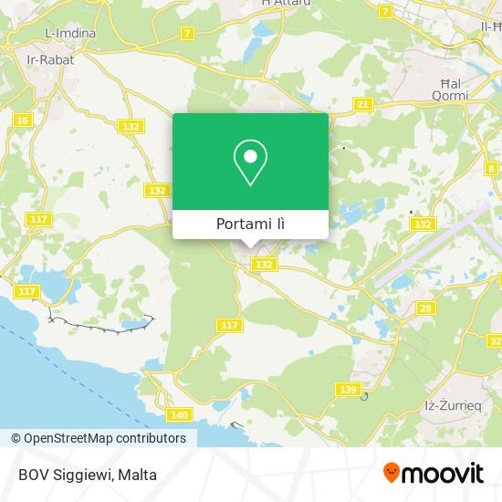 Mappa BOV Siggiewi