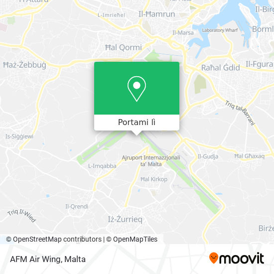Mappa AFM Air Wing