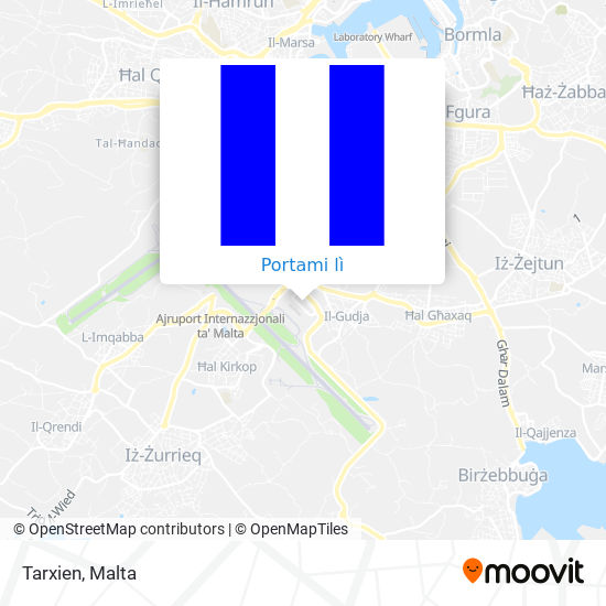 Mappa Tarxien