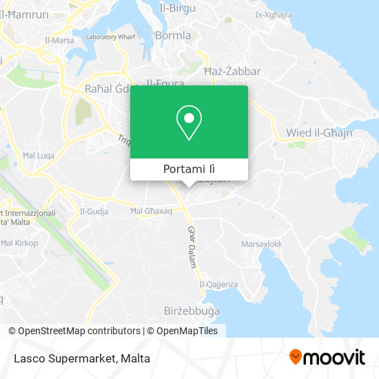 Mappa Lasco Supermarket