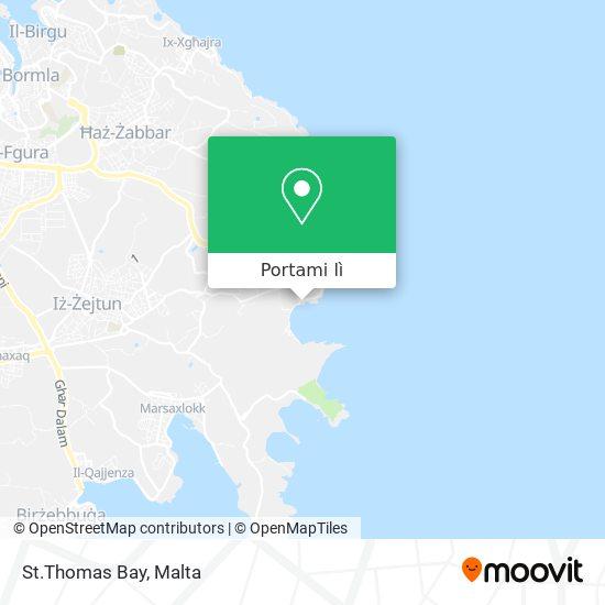 Mappa St.Thomas Bay