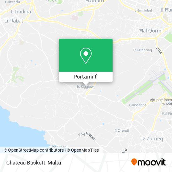 Mappa Chateau Buskett