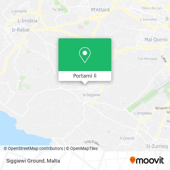 Mappa Siggiewi Ground