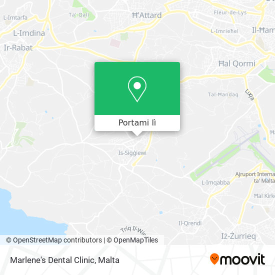 Mappa Marlene's Dental Clinic