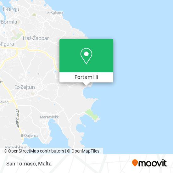 Mappa San Tomaso