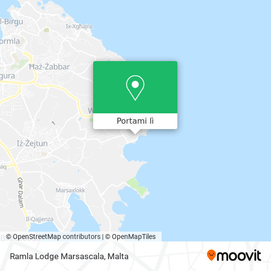 Mappa Ramla Lodge Marsascala