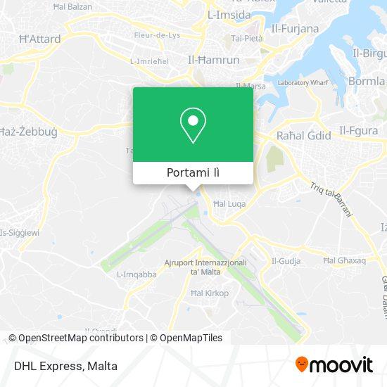 Mappa DHL Express