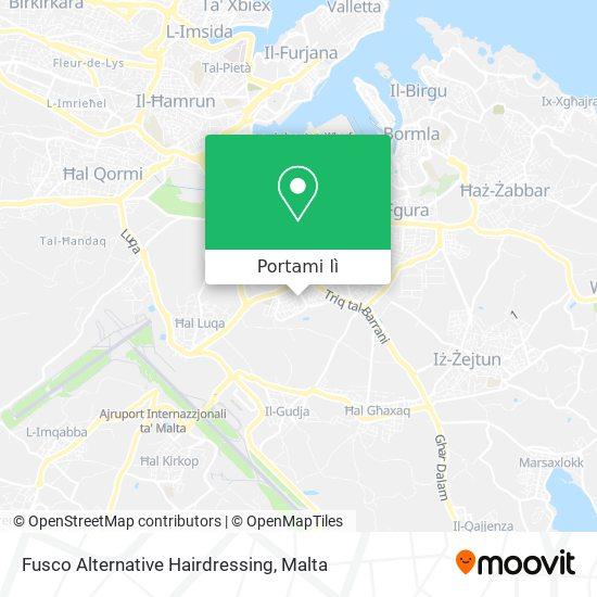 Mappa Fusco Alternative Hairdressing