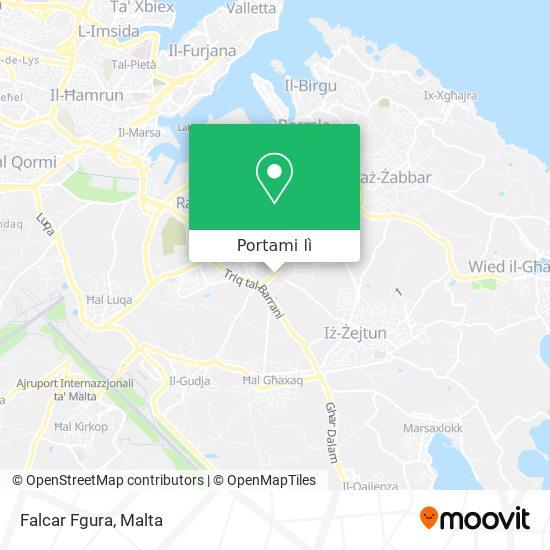 Mappa Falcar Fgura