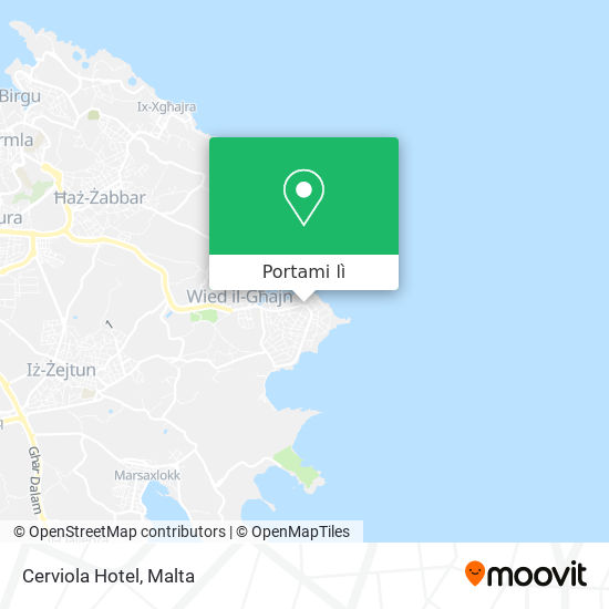 Mappa Cerviola Hotel