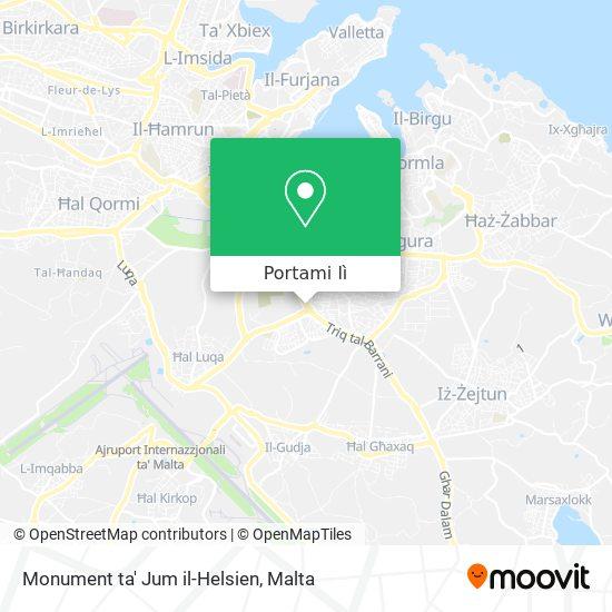 Mappa Monument ta' Jum il-Helsien