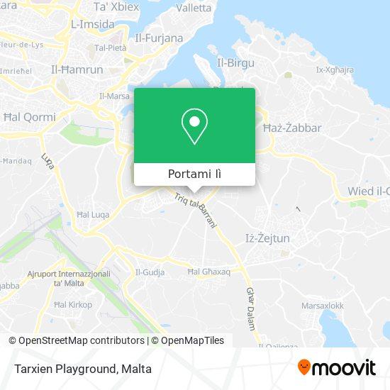 Mappa Tarxien Playground