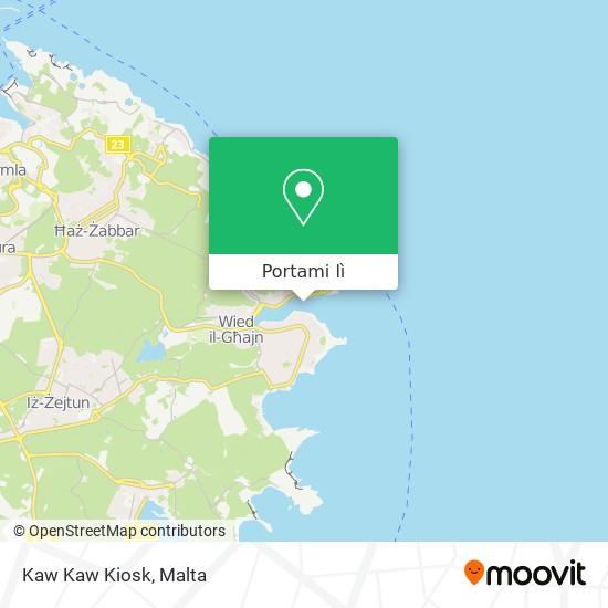 Mappa Kaw Kaw Kiosk