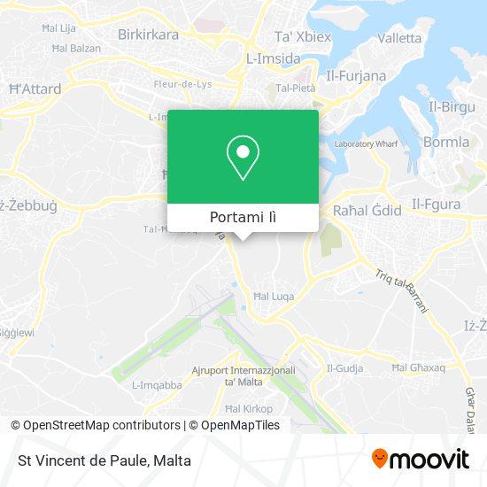 Mappa St Vincent de Paule