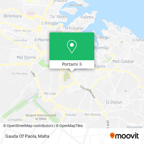 Mappa Gauda Of Paola