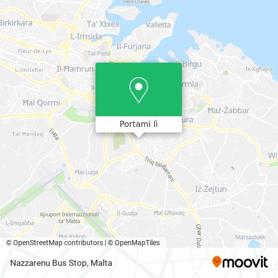 Mappa Nazzarenu Bus Stop