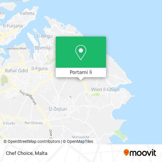 Mappa Chef Choice
