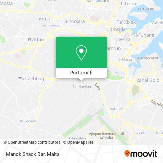 Mappa Manok Snack Bar