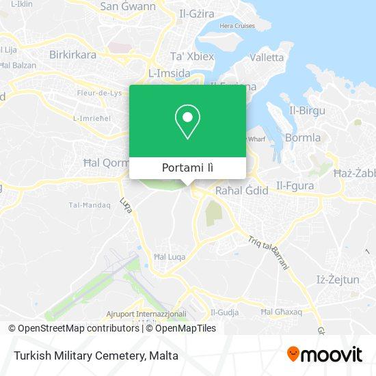 Mappa Turkish Military Cemetery