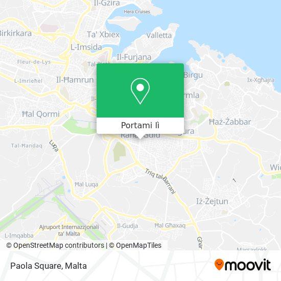 Mappa Paola Square