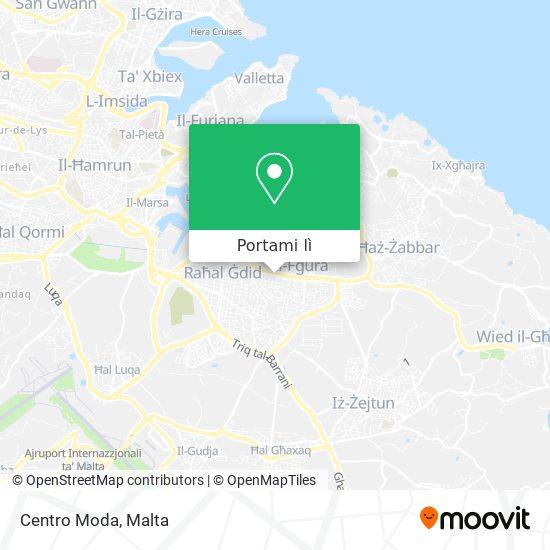 Mappa Centro Moda