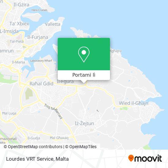 Mappa Lourdes VRT Service