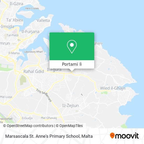 Mappa Marsascala St. Anne's Primary School