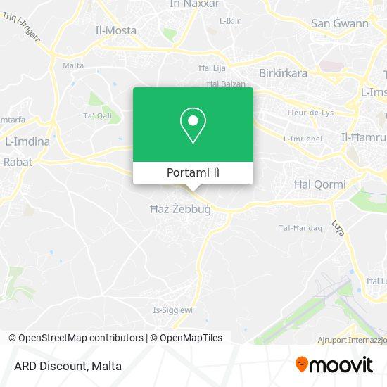 Mappa ARD Discount