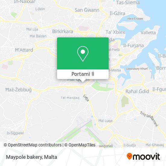 Mappa Maypole bakery