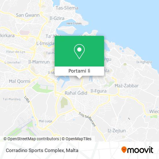Mappa Corradino Sports Complex