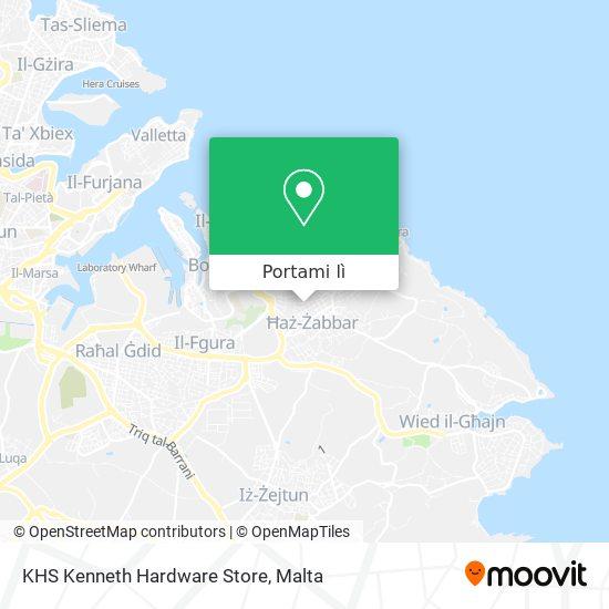 Mappa KHS Kenneth Hardware Store
