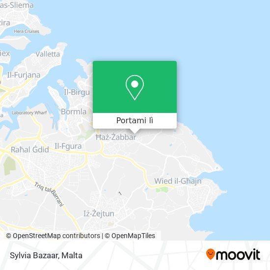 Mappa Sylvia Bazaar