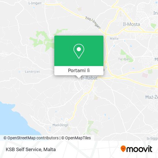 Mappa KSB Self Service