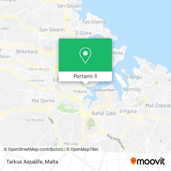 Mappa Tarkus Aqualife