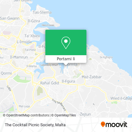 Mappa The Cocktail Picnic Society