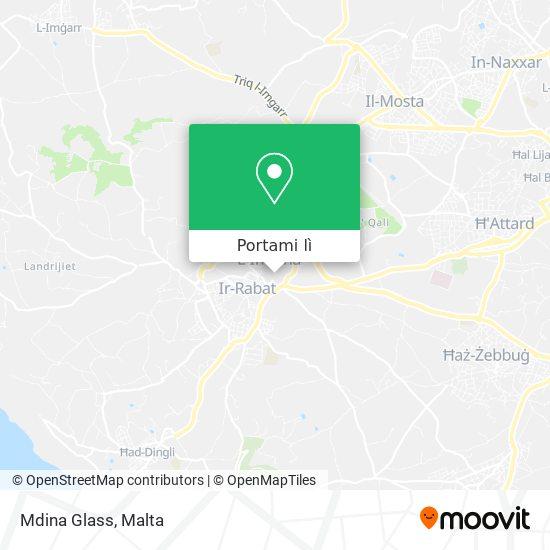 Mappa Mdina Glass
